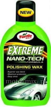 Wosk polimerowy w płynieTurtle Wax Extreme Nano-Tech Polishing Wax 500ml
