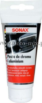 Pasta do chromu i aluminium Sonax